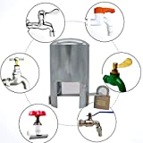 tap Lock Padlock Outdoor Faucet Locking System - Insulated,Garden Hose and casing Lock and Cover - Saves Water, Prevents Unauthorized use and Vandalism, and is Easy to Install