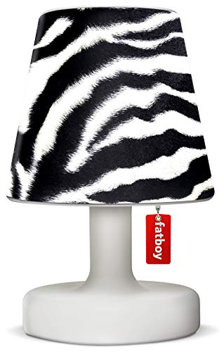 Fatboy® Edison the Petit + Cooper Cappie Zebra | Tischlampe / Outdoor Lampe / Nachttischlampe | Kabellos & per USB Aufladbar