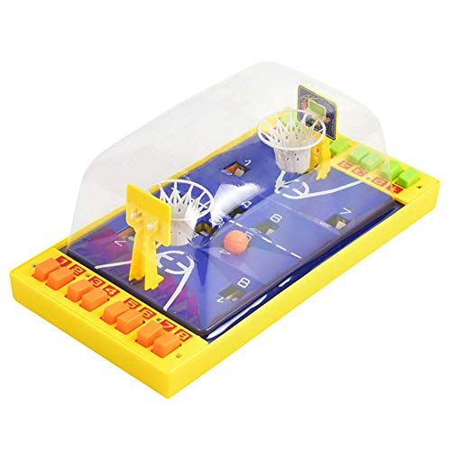 WDDH Mini Basketball Table Game Arcade Game,Basketball Shooting Game,Fun Sports Toy for Adults-Help Reduce Stress Best Interactive Desktop Game for Kids and Adults