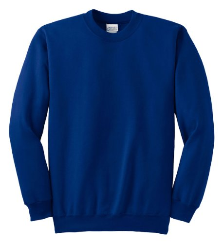 Port & Company Men's Ultimate Crewneck Sweatshirt XL Royal