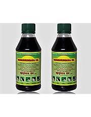 Ramakrishna Vidyut Ayurved Pharmacy Maka Mahabhringaraj Oil, 100 ml (Pack of 2)