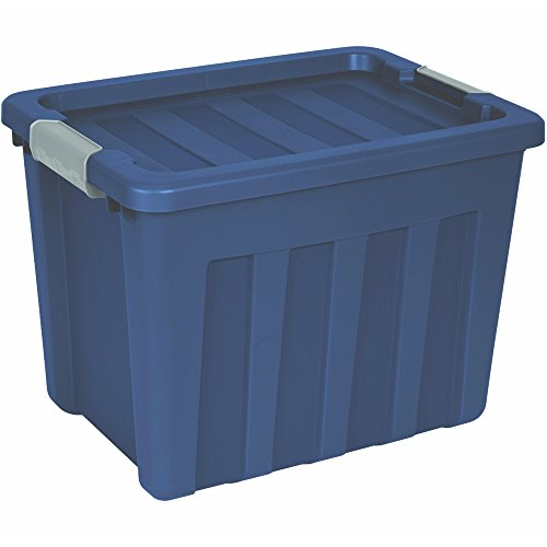 Sterilite 16867406 18 Gallon Blue Ultra Tote