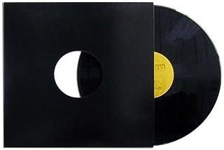 50 Fundas DE Carton Color Negro para Discos DE Vinilo LP - Marca Cuidatumusica - / Ref.2392