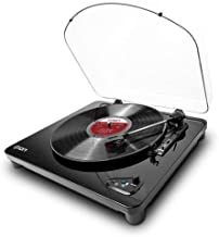Ion Audio Belt Drive DJ Turntable Air LP | Bluetooth Enabled Thr
