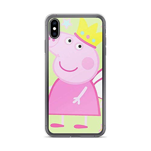 Clothful Peppa Fairy Pig TPU Transparent Phone Cases Pure Clear Shockproof Anti-Scratch Protective Carcasa De Telefono Case Compatible for iPhone (7/8,iPhone SE 2020)