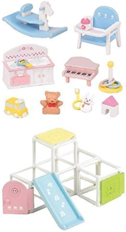 2 Unique Sets  Toys and Jungle Gym Sets Sold Together (Japan Import)