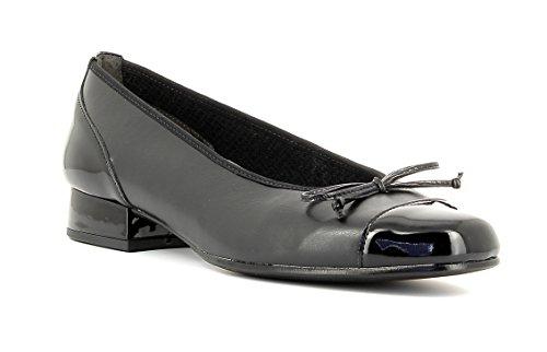 Gabor Comfort Basic , Women's Ballet Shoes, Black (Black Leather HtPatent), 6.5 UK