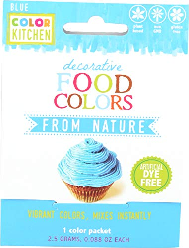Colorkitchen, Food Color Bright Blue, 0.1 Ounce