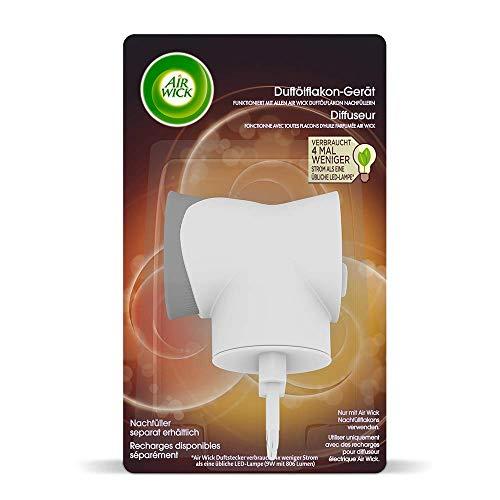 Air Wick Duftölflakon-Gerät – Duftstecker für frischen Raumduft – Kombinierbar mit jedem Air Wick Duftölflakon Nachfüller – 3er Paket Duftöl Flakon Gerät