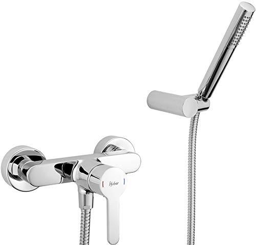 Huber h2 rubinetto miscelatore esterno doccia con accessori