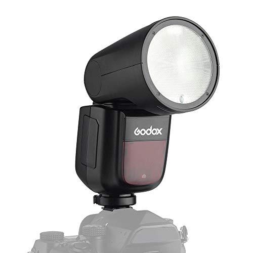 Godox V1P Flash de cámara Speedlite Speedlight Flash de Cabeza Redonda Incorporado...