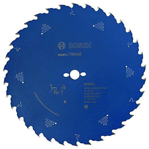 BOSCH 2608644078 - Disco de sierra circular CSB Expert madera: 450x30x34D