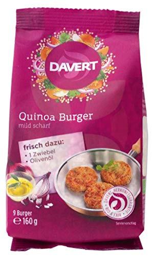 Davert Bio Quinoa Burger, 160 g