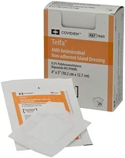 Covidien 7662 Telfa AMD Antimicrobial Non-Adherent Pad, 3