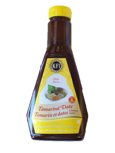 KFI Tamarind Date Mild Chutney Sauce 15.4 Fl oz
