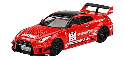 MINI GT 1/64 LB-Silhouette WORKS GT ニッサン 35GT-RR バージョン1 Infinite Motorsport Motul 右ハンドル 完成品