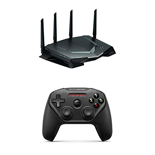 NETGEAR XR500 Nighthawk Pro Gaming AC2600 WiFi Router with SteelSeries Nimbus Wireless Gaming...