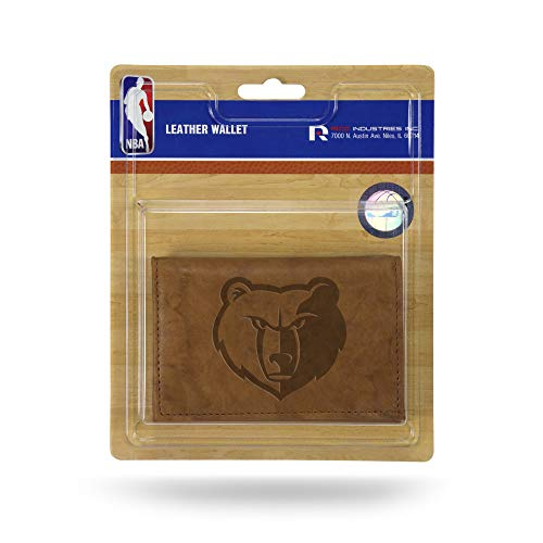 Rico Industries Fan Shop NBA Memphis Grizzlies Embossed Leather Trifold...