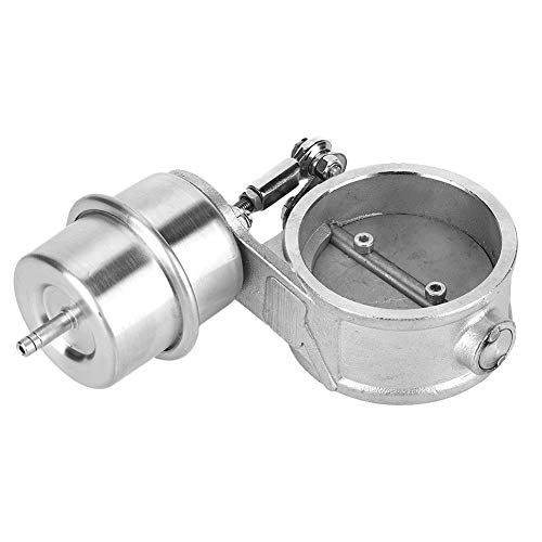 Vacuum Valve, Acouto Vacuum Actuator Exhaust Control Valve Air Vent Outlet Stainless Steel Bypass Valve Replacement Parts(3inch)
