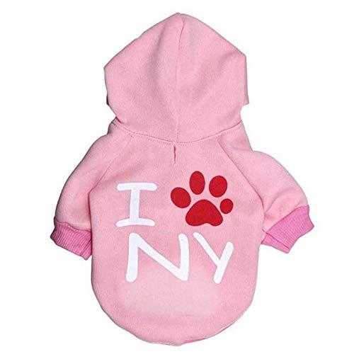 Huisdier hond kleding hoodies puppy kleding herfst winter warme kleding pullover kostuum jas jas kleding voor wandelen joggen