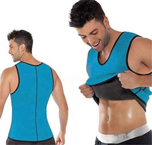 Männer Abnehmen Bauch Body Shaper Weste Bauch Side Zip Korsett Neopren Schweiß Taille Trainer