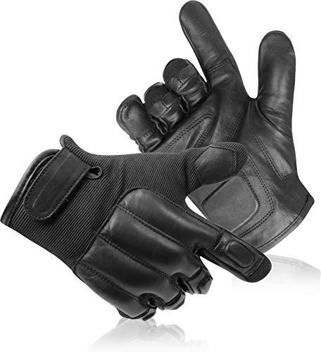 normani Security Quarzsandhandschuhe Quick Defender aus Nylon und Leder Größe XL