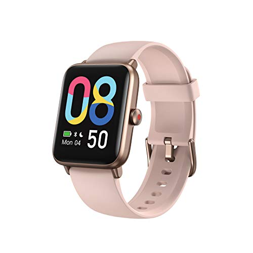 Vigorun Smartwatch Donna Uomo, 1,55 pollici Smartwatch Cadiofrequenza Smart Watch Impermeabile 5ATM Orologio sportivo GPS con contapassi Calorie Sonno Cronometro per iOS Android