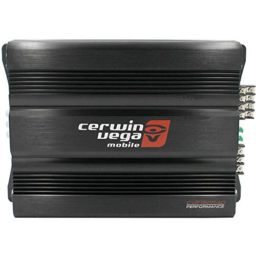 Cerwin Vega CVP1600.4D CVP Series 4-Channel Class-D Amplifier (800W RMS) + Free LAB Sticker