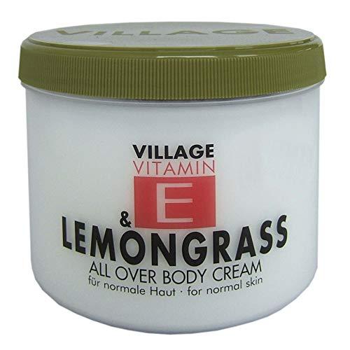 Village Vitamin E & Lemongrass All Over Body Cream, 500 ml