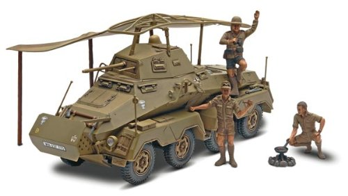 Revell Monogram Panzerspahwagen Sd.Kfz. 232 Plastic Military Land Vehicle Model Building Kits