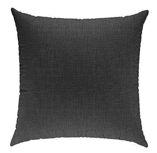 sunnypillow Coussin Décoratif pour Canapé Palette Intérieur/Extérieur Oreiller 40 x 40 cm plusieures Tailles et Couleurs à Choisir Anthracyt