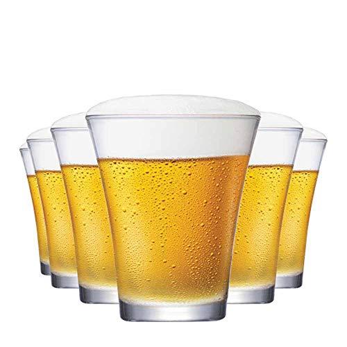 Jogo de Copos de Cerveja Choppinho com 235ml 6 Peças, Ruvolo