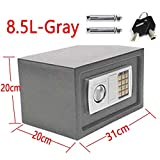 Home Storage Safe Security Box Chest Lock 8.5L Digit Security Case Handy Storage Secure Locking Safe Chest...