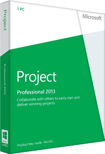 Office Project Professional 2013 - 1PC (product key card ohne datenträger) [import allemand]