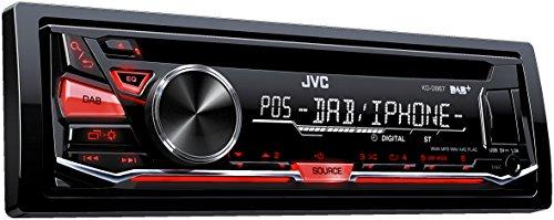 JVC KD-DB67 USB/CD-Receiver (DAB+, Front-AUX) schwarz