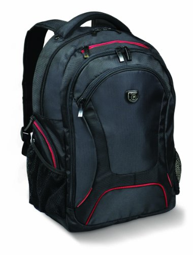 PORT DESIGNS COURCHEVEL 14/15.6 '' Notebook Laptop Backpack and 10.1 '' Tablet, Black-Red