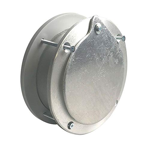 Fantastic Deal! New Opener Parts 6 Inch Aluminum Exhaust Port for Doors Up to 2 Inch Thick