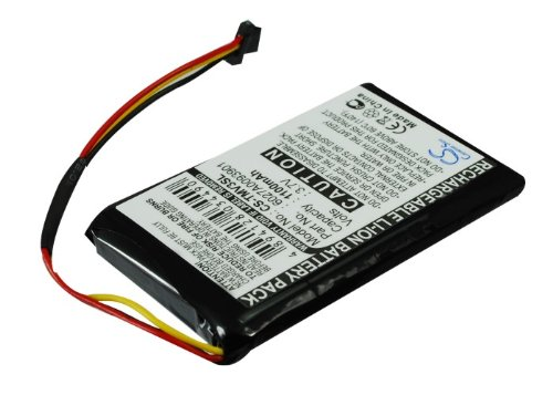 XSP 1100mAh Replacement Battery for Tomtom 4EM0.001.01 N14644 V3 XL IQ Part NO 6027A0093901 Parts Battery Batteries