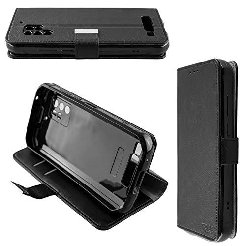caseroxx Handy Hülle Tasche kompatibel mit Oukitel WP10 Bookstyle-Hülle Wallet Hülle in schwarz