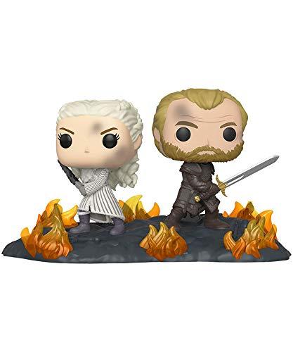 Funko Pop! Got – Games of Thrones – Daenerys & Jorah with Swords #86 Vinyl Figure 10 cm Released 2019