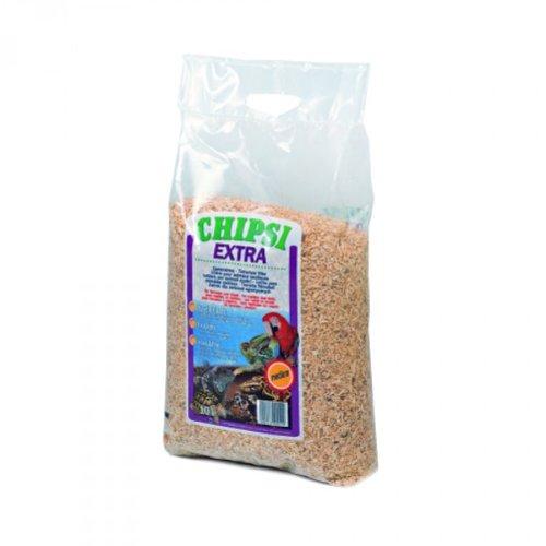 Chipsi Kleintierstreu Extra Medium - Buchenholz-Granulat, 10 Liter