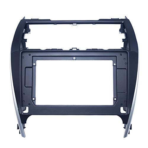 FEELDO Audio del coche 10.1 'pantalla grande fascia marco adaptador para Toyota Camry 2012 2DIN CD/DVD reproductor montaje panel marco kit