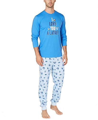 Family Pajamas Men's Hanukkah Pajama Set, XX-Large