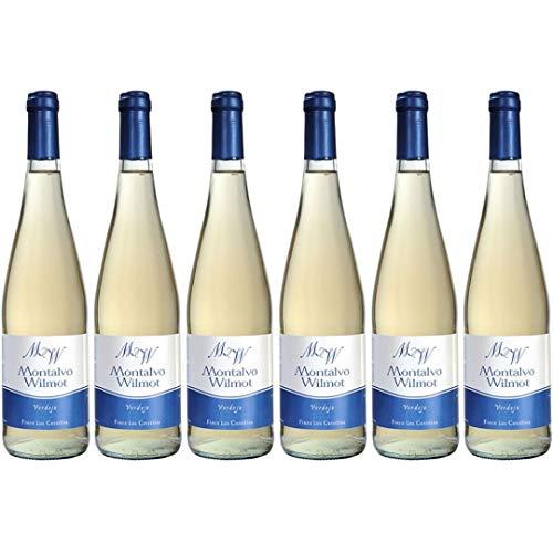 Montalvo Wilmot Vino Blanco Verdejo - 6 Botellas - 4500 ml