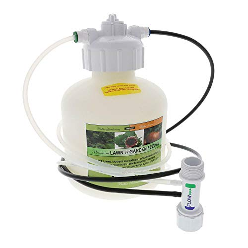 EZ-FLO 2005-HB 3/4 Gallon Low Pressure Hose Bib and Drip Connection Fertilizer Injector System