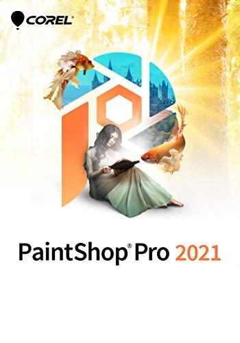 Corel PaintShop Pro 2021 | Bildbearbeitungs-und Grafikdesign-Programm | KI-gestützte Funktionen | Pro | 1 Gerät | PC | PC Aktivierungscode per Email