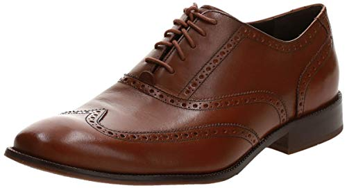 Cole Haan Men's Williams Wingtip Oxford, British Tan, 10 M US