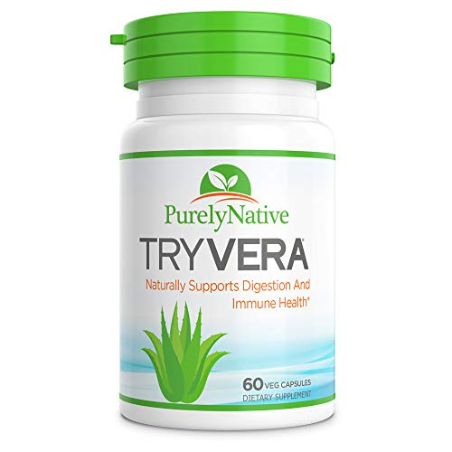 TRYVERA - Naturally Relieves Bouts of Indigestion, Acid Reflux, Heartburn, Gas, Bloating and Constipation. Helps with Regularity & aids Digestion.