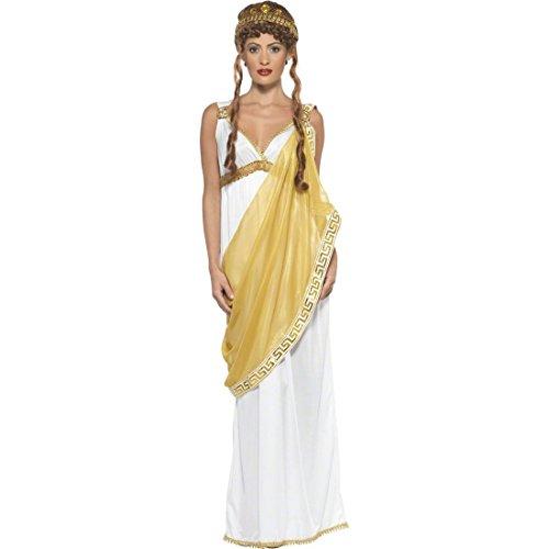 NET TOYS Vestuario Griego o Romano Helena de Troya Disfraz Esparta Diosa Traje Antiguo