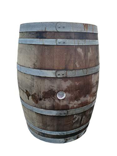 MGP Master Garden Products WB-35 Oak Wood Whole Wine Barrel, 26